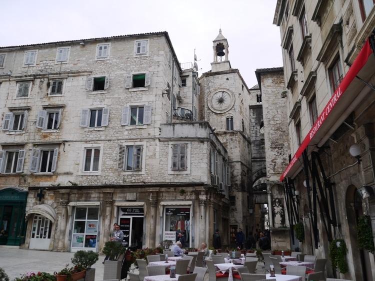 Old Town Clock, Split