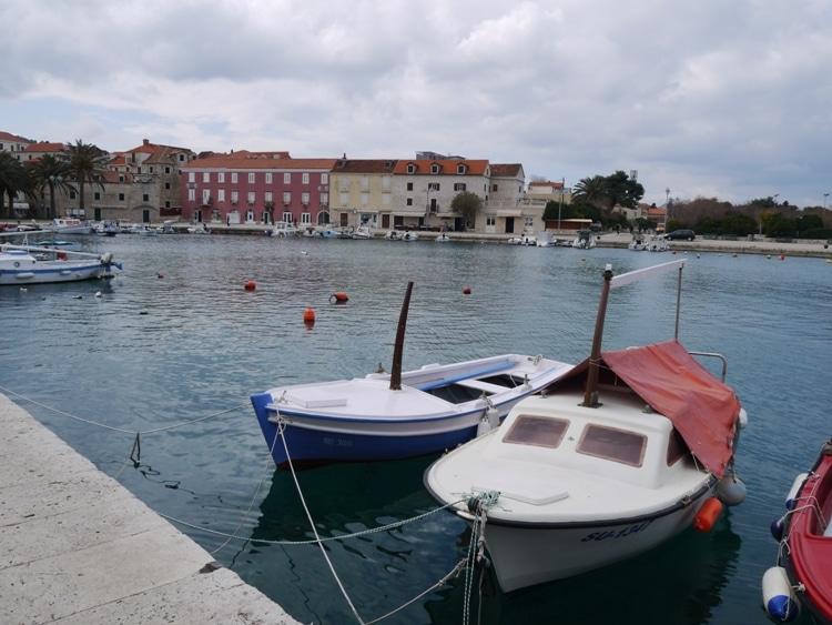 Supetar Harbor, Brac, Croatia