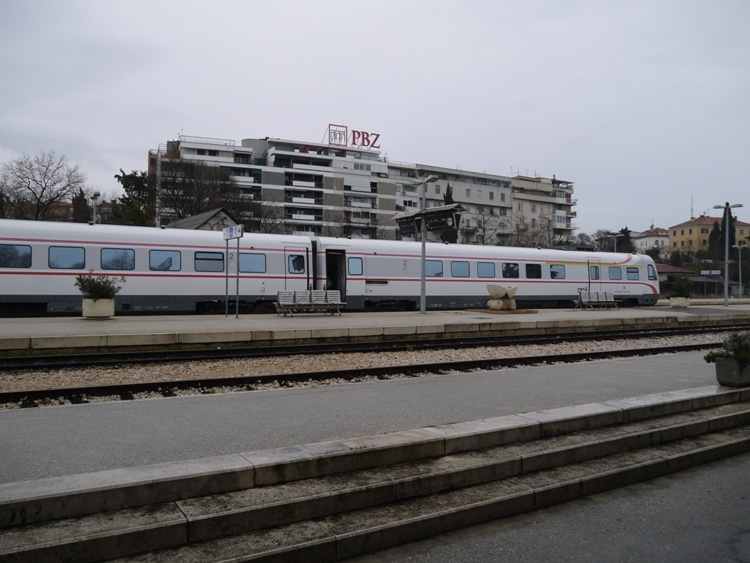 Our Train From Zagreb Finally Arrives In Split