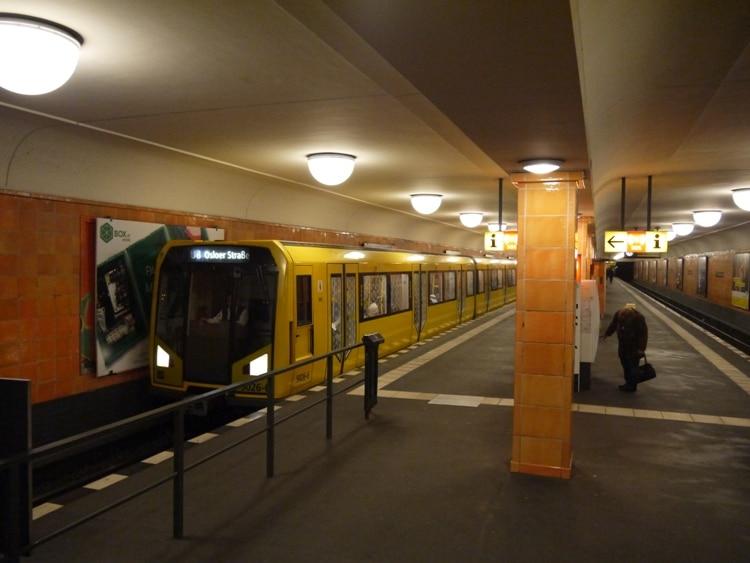 A U-Bahn Train In Berlin