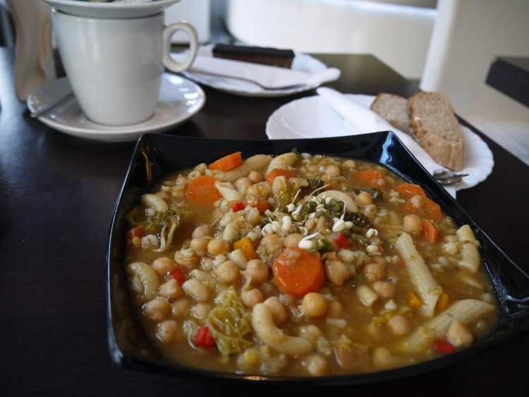 Bean Stew At Upcafe, Split, Croatia