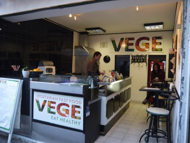 Vege Fast Food, Split, Croatia