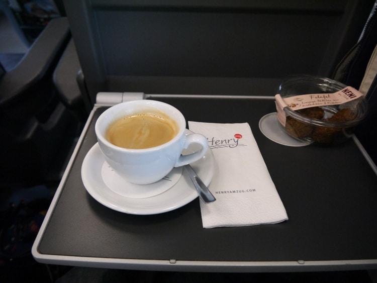 Americano On The Railjet From Vienna To Villach