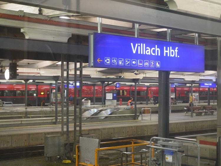 Villach Station, Austria