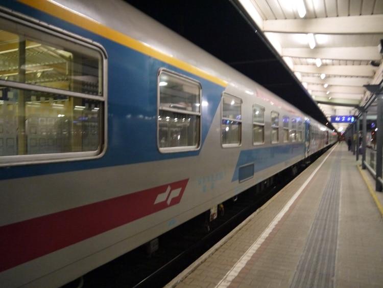 Villach To LjublJana Train