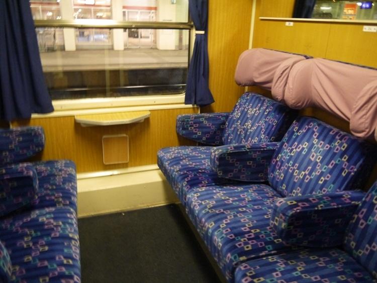 First Class On Villach To LjublJana Train