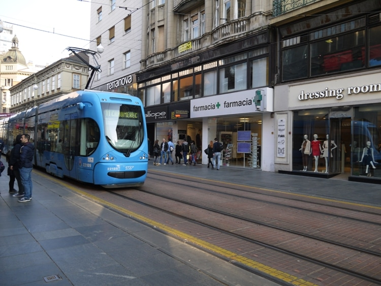 New & Modern Trams, Zagreb