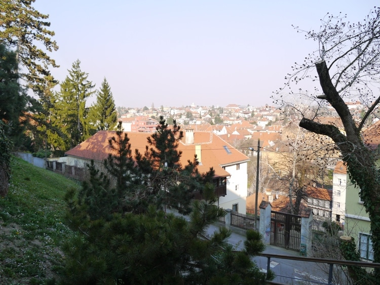View From The Upper Town, Zagreb