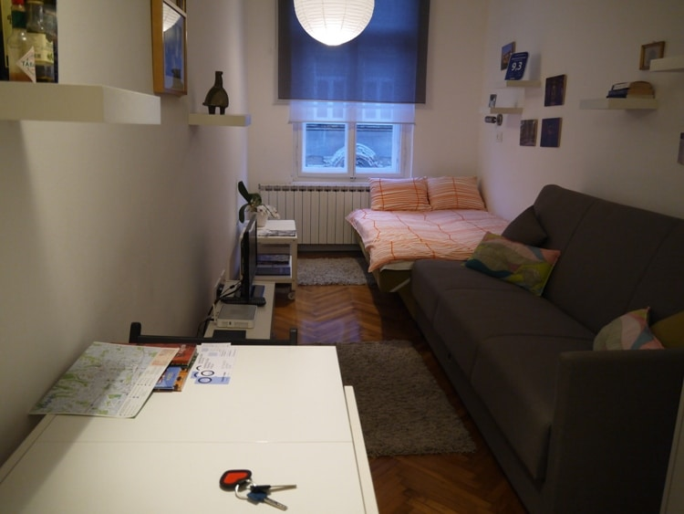 Our Studio Apartment At Zagreb Center Apartments