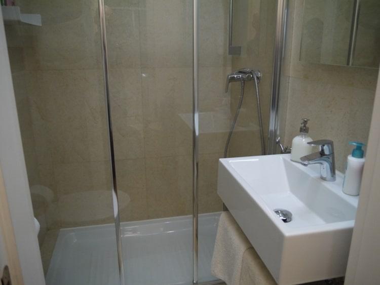 Modern Bathroom At Zagreb Center Apartments