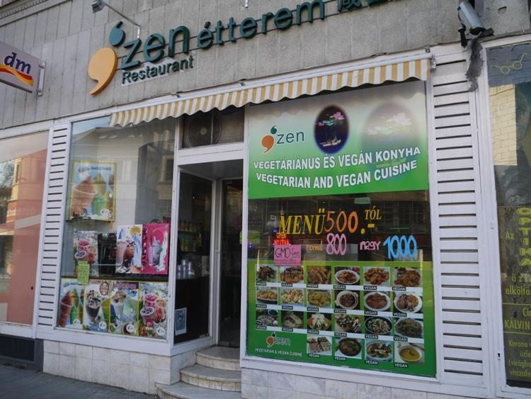 Zen Vegetarian, Budapest