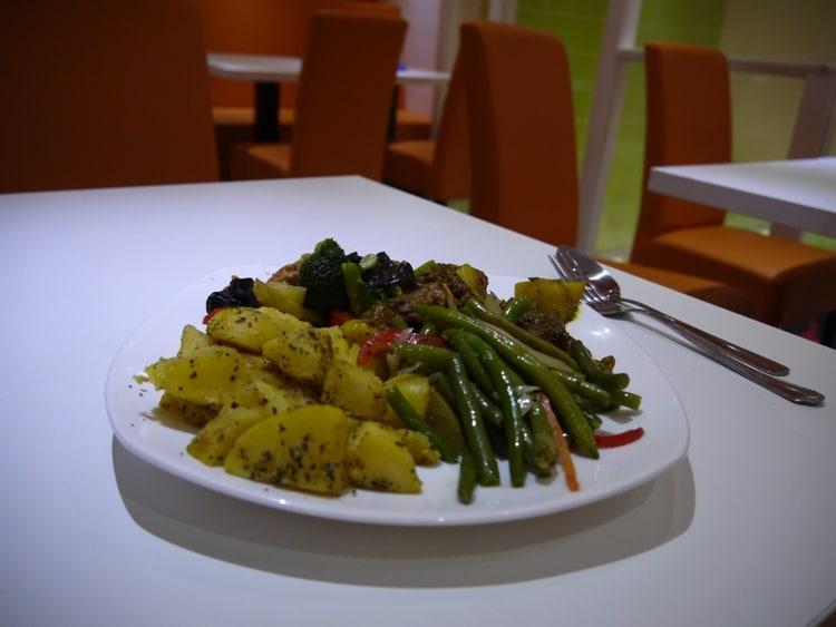 Dinner At Zen Vegetarian, Budapest