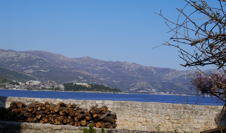 Mountains As Seen From Budva Old Town, Montenegro