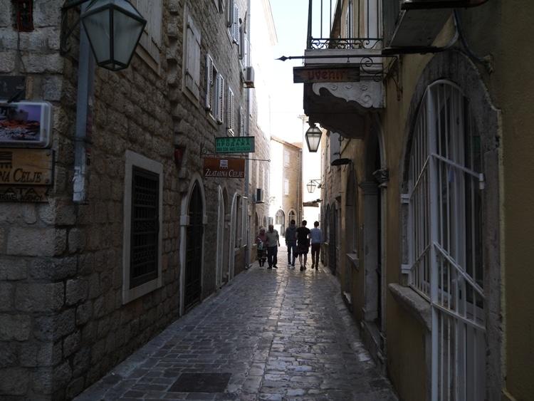Rush Hour In Budva Old Town, Montenegro