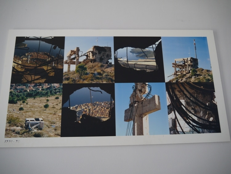 Cable Car Damage From 1991-92 War