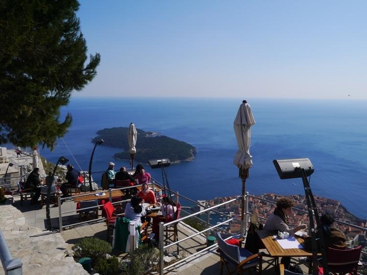 Restaurant Panorama, Srd Hill, Dubrovnik
