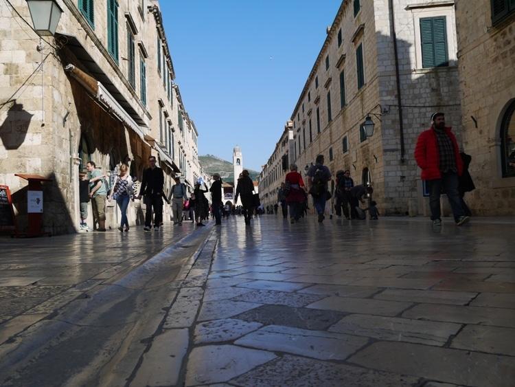 Dubrovnik's Main Street