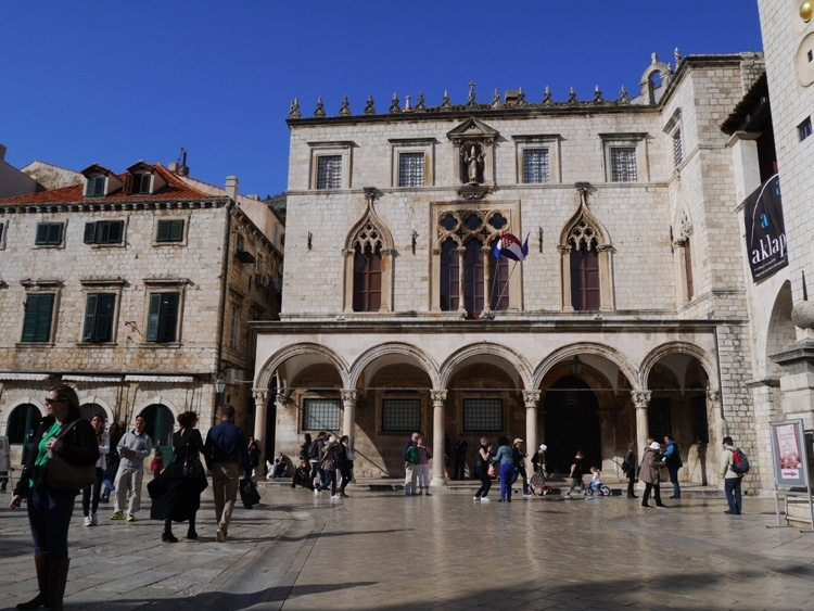 Palace Sponza, Dubrovnik Old Town