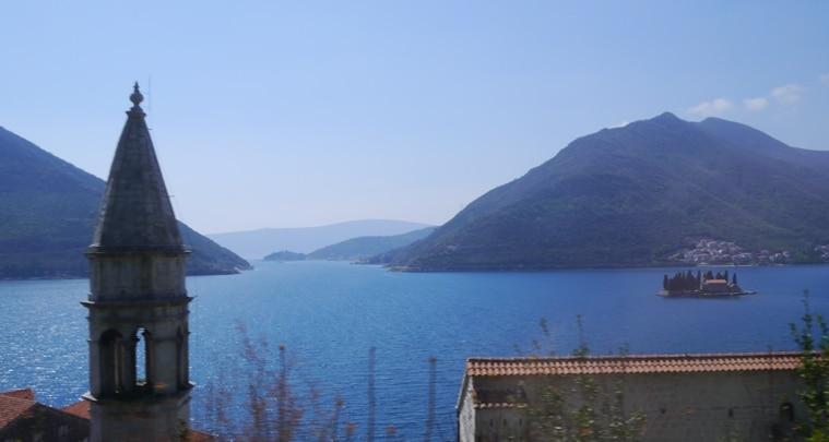 Sveti Dorde, Kotor Bay. Montenegro
