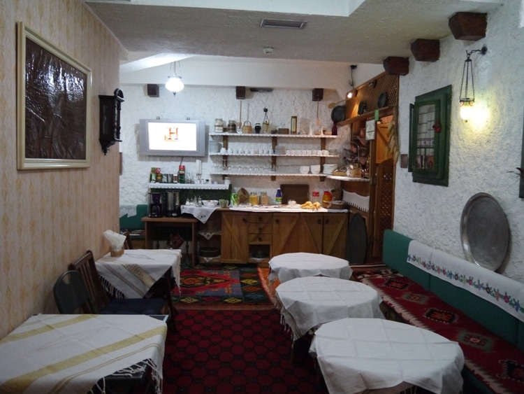 Breakfast Room At Guesthouse Kandilj, Sarajevo