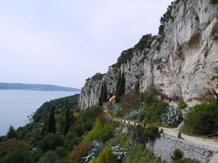 St. Jerome Church, Cliffs & Hermitage Caves, Marjan Hill