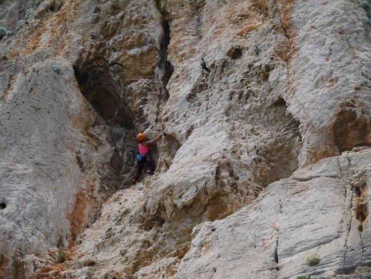 Rock Climbing On Marjan Hill's Southern Cliffs
