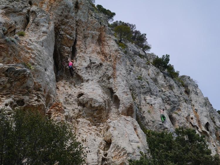 Beautiful views of Marjan Hill in Croatia
