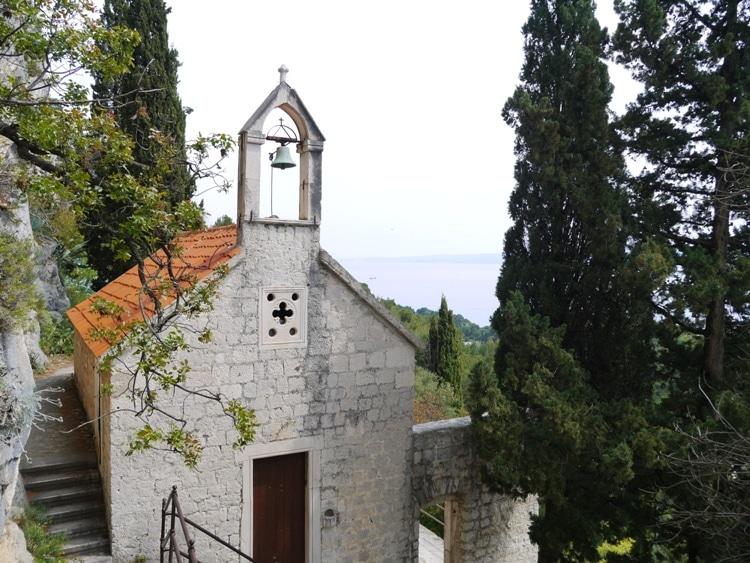 St. Jerome Church on Marjan Hill in Split, Croatia.