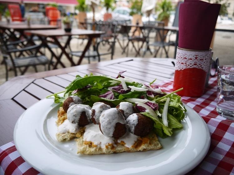Falafel At Bistro Kod Damira, Stari Grad, Hvar, Croatia