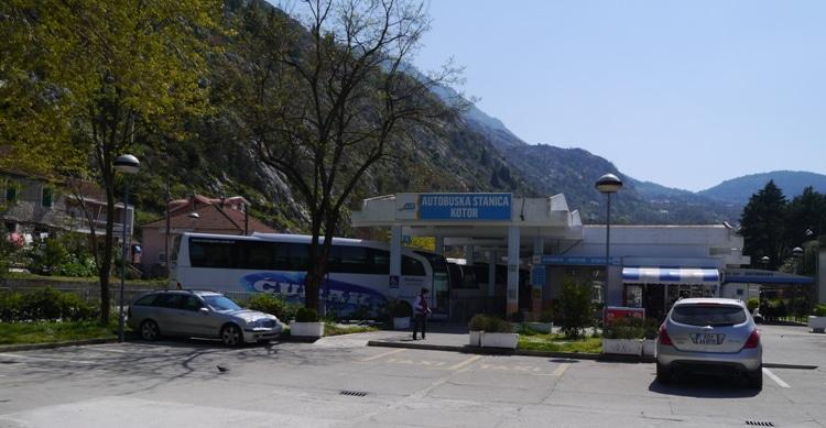 Kotor Bus Station