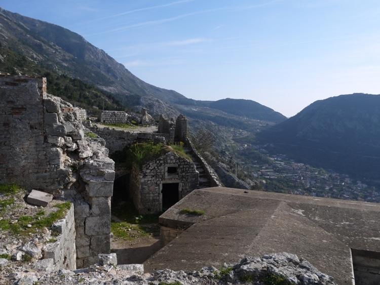 San Giovanni Castle, Kotor, Montenegro