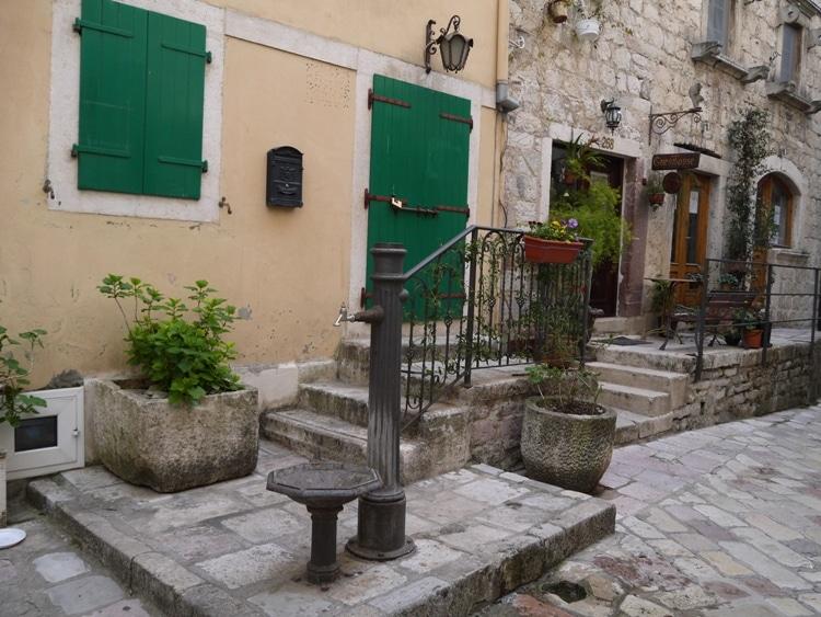 Water Pump At Kotor, Montenegro