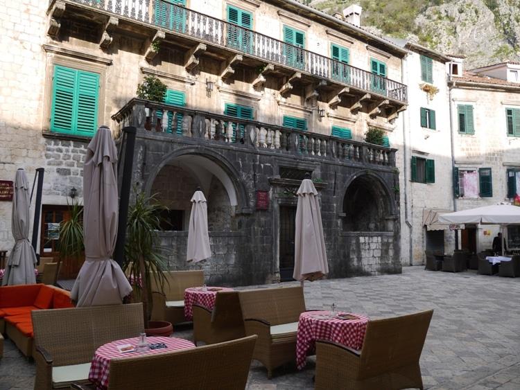 Old Palace. Kotor, Montenegro