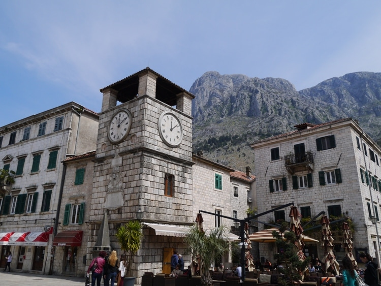 Old Town Clock, Kotor, Montenegro