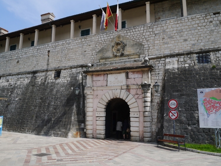 Main Entrance To Old Town Kotor, Montenegro