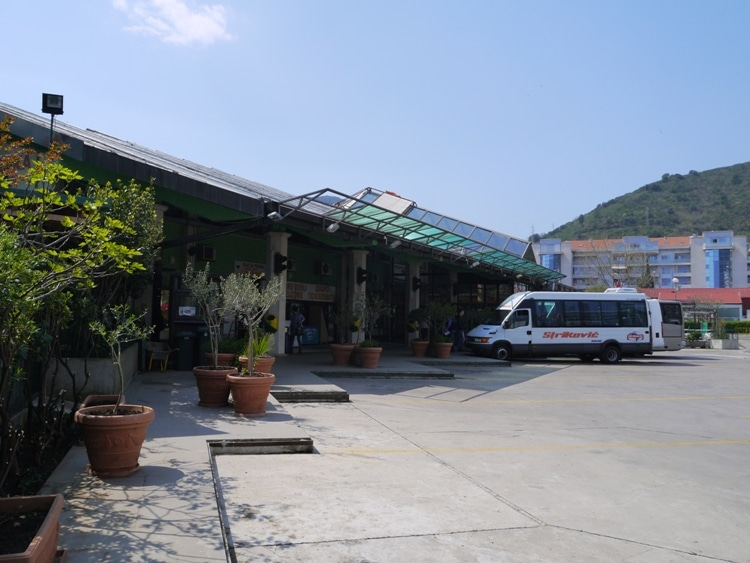 Budva Bus Station