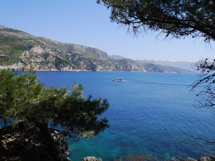 Beautiful Sea Views From Lokrum Island