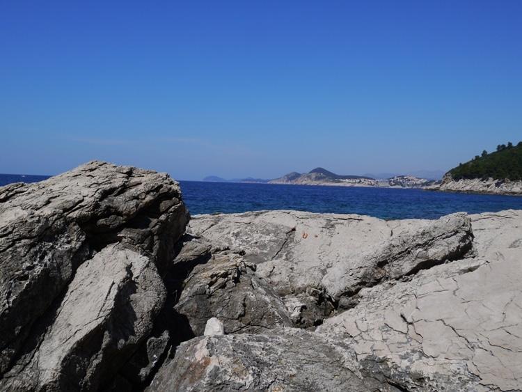 Lokrum Island Coastline