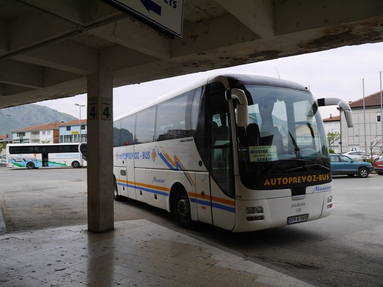 Mostar To Sarajevo Bus