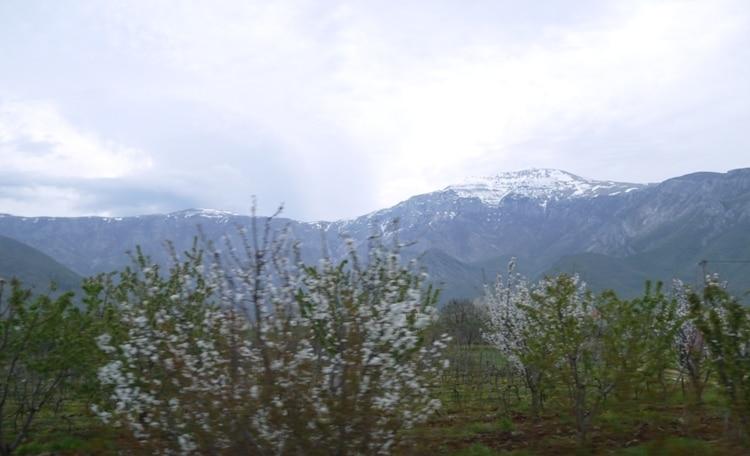 Mountain Views From Mostar To Sarajevo Bus