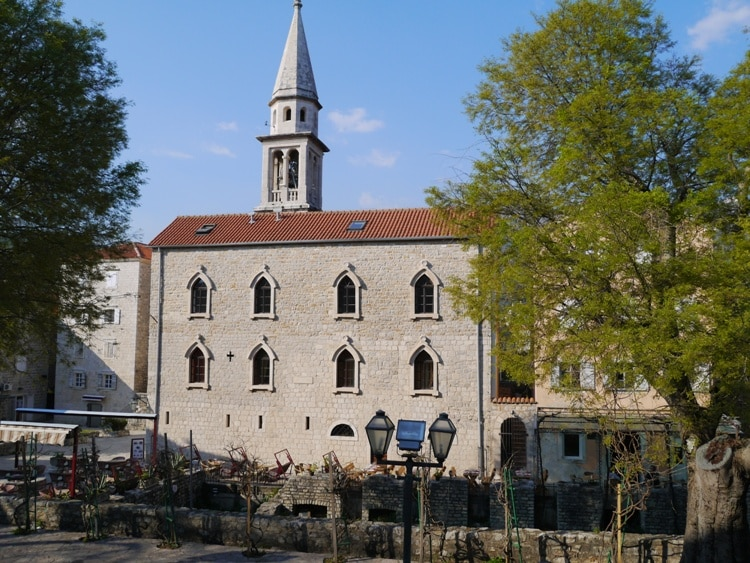 Saint Ivan Church, Budva, Montenegro