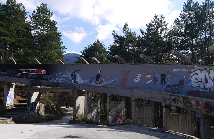 Sarajevo's Abandoned Bobsleigh Track