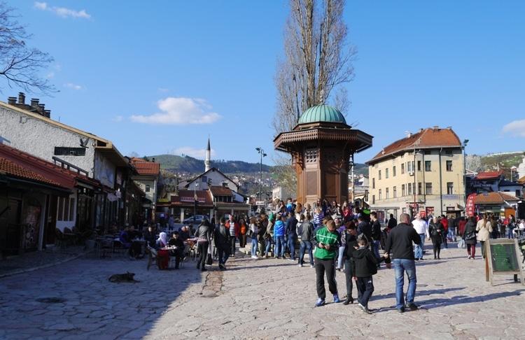 The Sebilj, Sarajevo