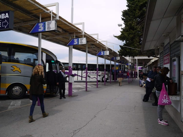 Split Bus Station, Croatia