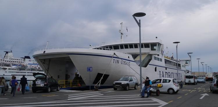 Jadrolinija Ferry At Split Harbor