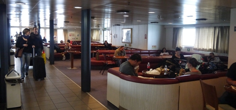 Inside The Split To Stari Grad Ferry