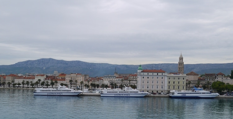 View Of Split From Ferry
