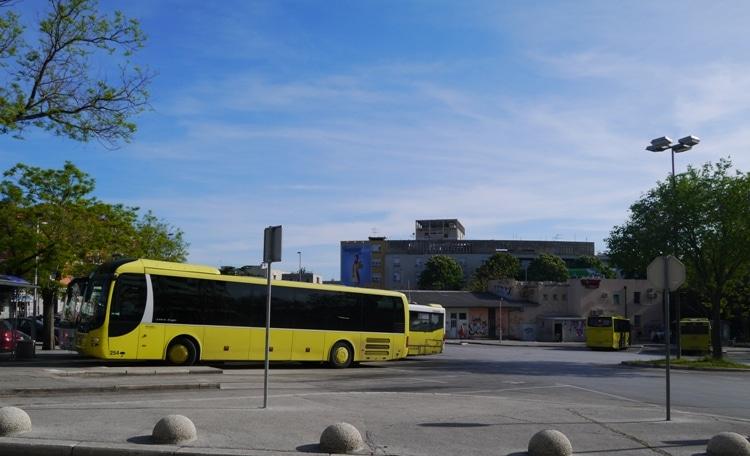 Sukoisan Bus Station, Split