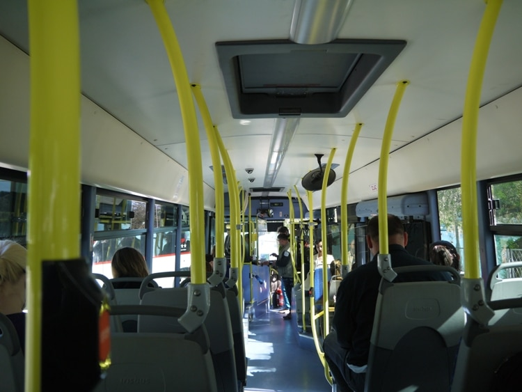 No. 37 Bus From Trogir To Split