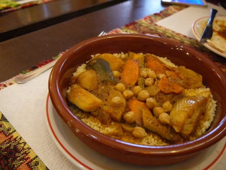 Cous Cous With Vegetables At Alounak, Nice, France